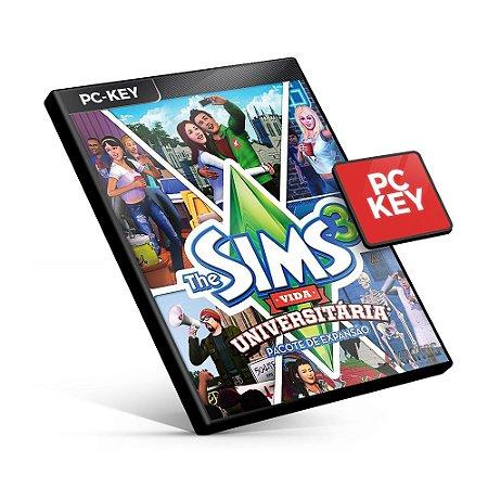 The Sims 3 Vida Universitaria Pacote de Expansão - PC KEY