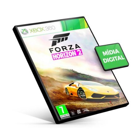 Forza Horizon 2 - Xbox 360 - Código 25 Dígitos