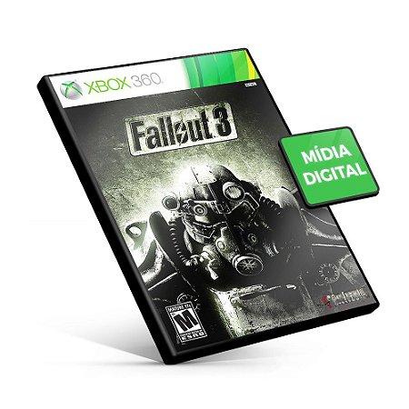 Fallout 3 - Xbox 360 - Código 25 Dígitos