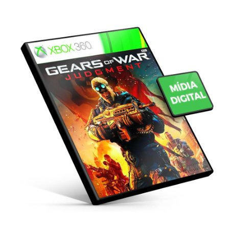 Gears of War: Judgment - Xbox 360 - Código 25 Dígitos