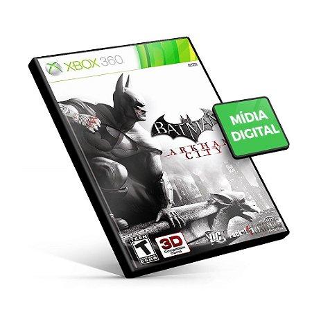 Batman: Arkham City - Xbox 360 - Código 25 Dígitos