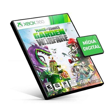 Plants vs Zombies Garden Warfare - Xbox 360 - Código 25 Dígitos Americano