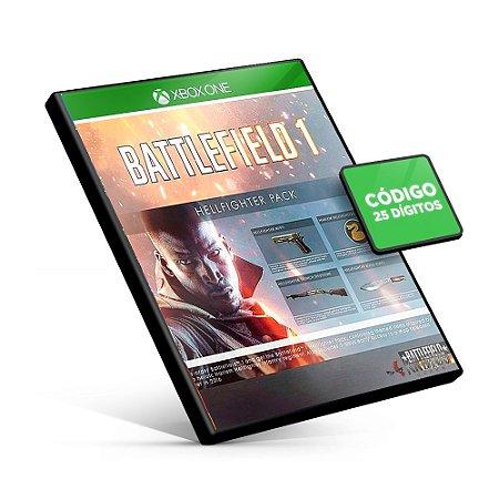 Battlefield 1 Hellfighter Pack DLC - Xbox One - Código 25 Dígitos