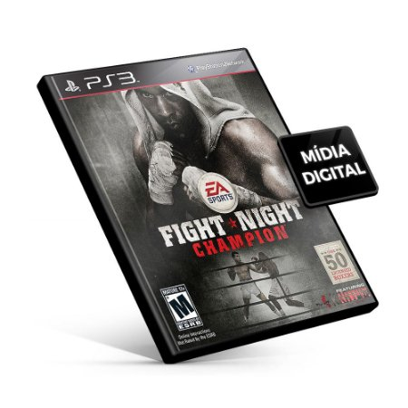 Fight Night Champion - PS3 Mídia Digital