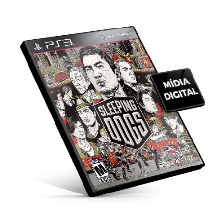 Sleeping Dogs - PS3 Mídia Digital