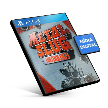 Metal Slug Anthology - PS4 Mídia Digital
