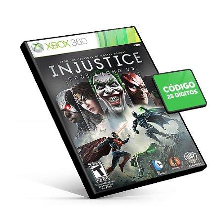 Injustice Gods Among Us - Xbox 360 - Código 25 Dígitos