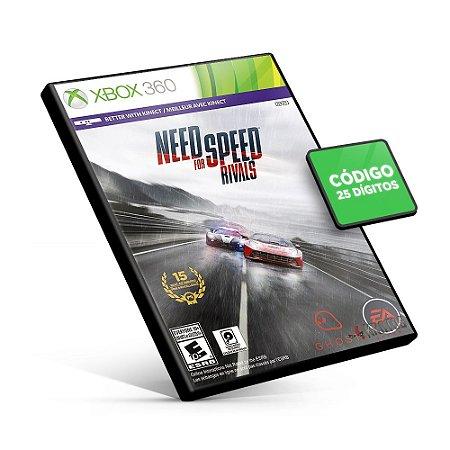 Need for Speed Rivals - Xbox 360 - Código 25 Dígitos