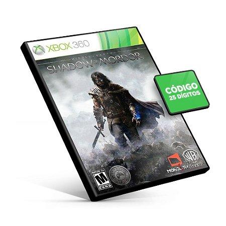 Middle-earth: Shadow of Mordor - Xbox 360 - Código 25 Dígitos Americano