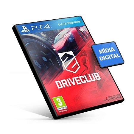DRIVECLUB - PS4 Mídia Digital