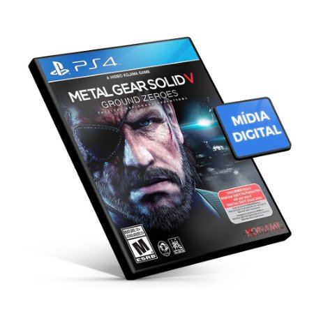 Metal Gear Solid V: Ground Zeroes - PS4 Mídia Digital