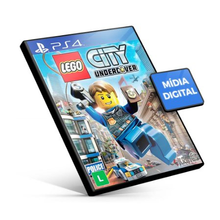 Lego City Undercover - PS4 Mídia Digital