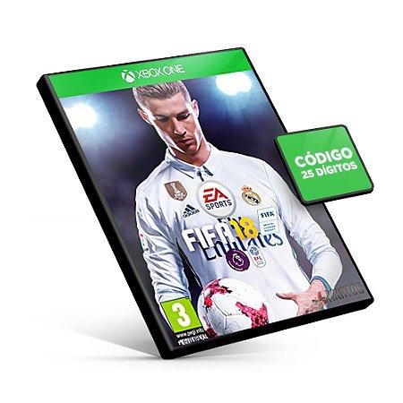 Fifa 18 Edição Padrão - Xbox One - Código 25 Dígitos