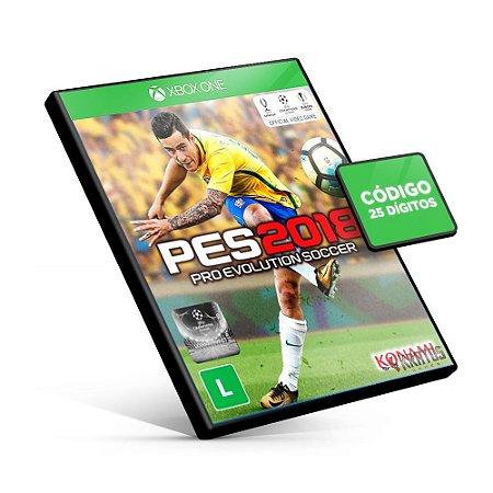 PES Pro Evolution Soccer 2018 - Xbox One - Código 25 Dígitos