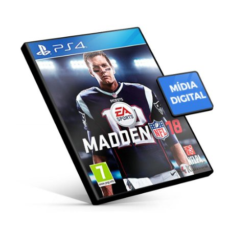 Madden NFL 18 - PS4 Mídia Digital