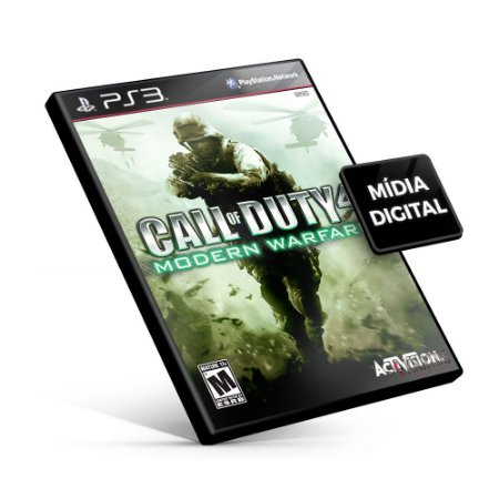 Call of Duty® 4: Modern Warfare - PS3 Mídia Digital