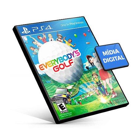 Everybody's Golf - PS4 Mídia Digital