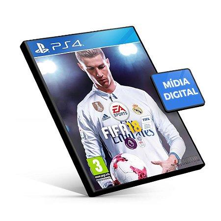 Fifa 18 Edição Standard - PS4 Mídia Digital - Versão em Inglês