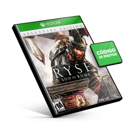 Ryse: Son of Rome - Xbox One - Código 25 Dígitos