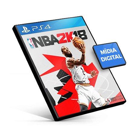 NBA 2K18 - PS4 Mídia Digital