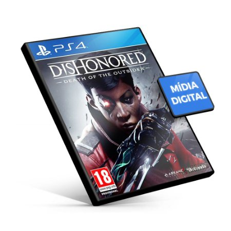 Dishonored: Death of the Outsider - PS4 Mídia Digital
