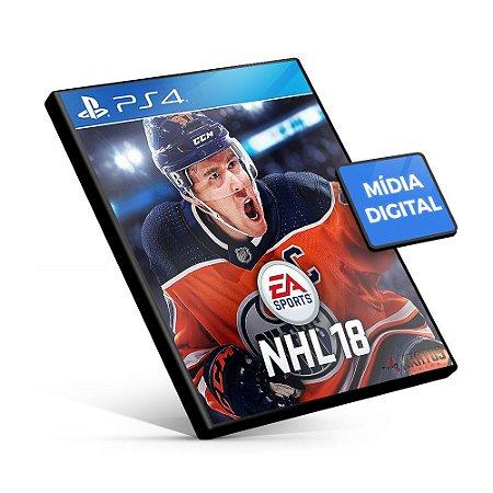 EA SPORTS™ NHL® 18 - PS4 Mídia Digital