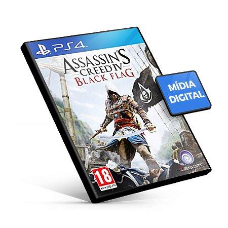 Assassin's Creed IV Black Flag - PS4 Mídia Digital