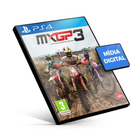 MXGP3 - The Official Motocross Videogame - PS4 Mídia Digital