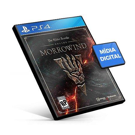The Elder Scrolls® Online: Morrowind - PS4 Mídia Digital