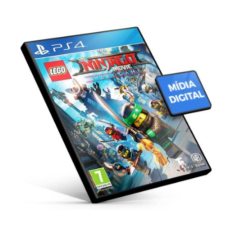 Lego Ninjago Movie Video Game - PS4 Mídia Digital