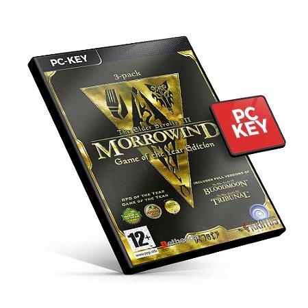 The Elder Scrolls III Morrowind - PC KEY