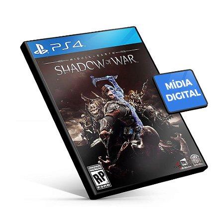 DUPLICADO - Terra-média™: Sombras da Guerra™ - PS4 Mídia Digital - Versão Inglês