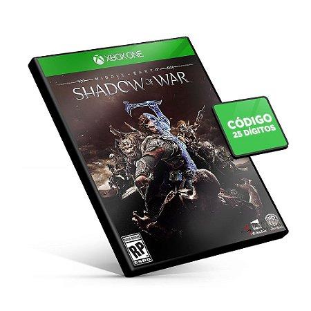 Terra-média™: Sombras da Guerra™ - Xbox One - Código 25 Dígitos
