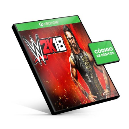 WWE 2K18 - Xbox One - Código 25 Dígitos