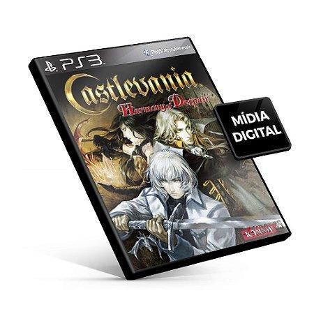 Castlevania Harmony of Despair - PS3 Mídia Digital