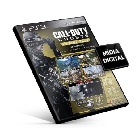 Call of Duty® Ghosts - Devastation - PS3 Mídia Digital