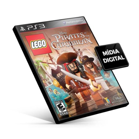 LEGO® Pirates of the Caribbean: The Video Game - PS3 Mídia Digital