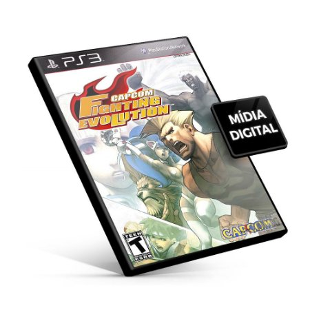 Capcom Fighting Evolution - PS3 Mídia Digital