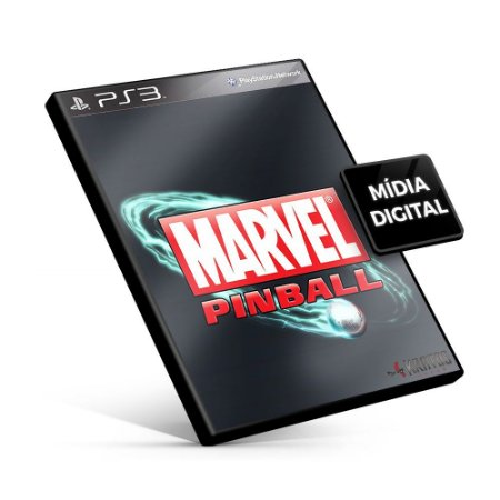Marvel® Pinball - PS3 Mídia Digital