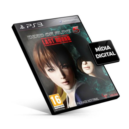 DEAD OR ALIVE 5 Last Round - PS3 Mídia Digital