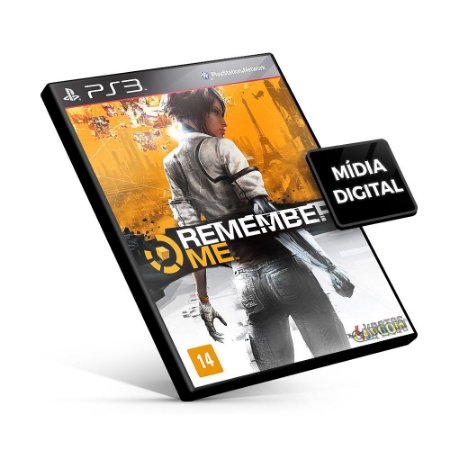 Remember Me - PS3 Mídia Digital