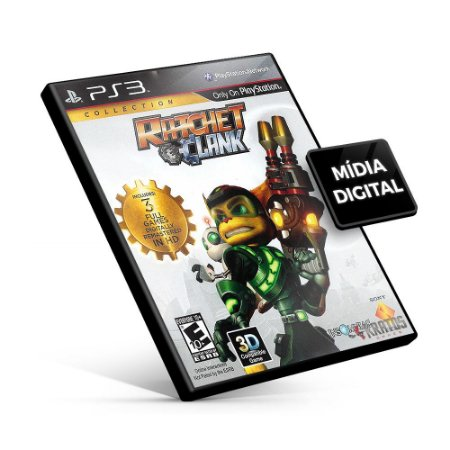 Ratchet & Clank® Collection - PS3 Mídia Digital