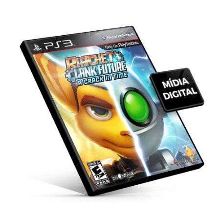 Ratchet & Clank® Future A Crack in Time - PS3 Mídia Digital