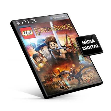 LEGO® The Lord of the Rings - PS3 Mídia Digital