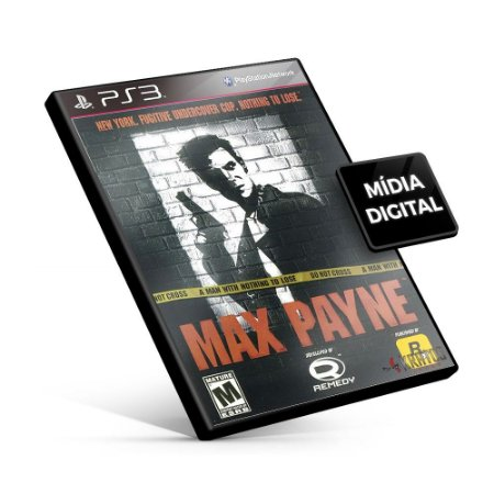 Max Payne® (PS2 Classic) - PS3 Mídia Digital
