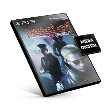 RESIDENT EVIL® THE UMBRELLA CHRONICLES - PS3 Mídia Digital