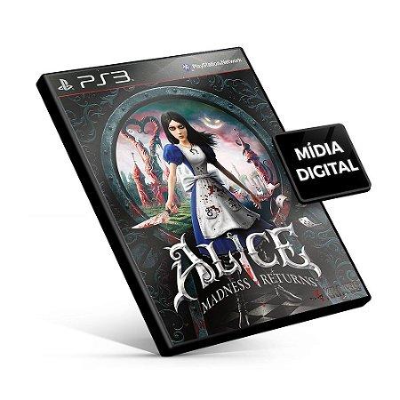 Alice Madness Returns - PS3 Mídia Digital