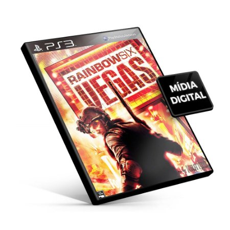 Tom Clancy's Rainbow Six® Vegas - PS3 Mídia Digital