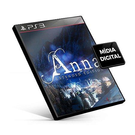 Anna - Extended Edition - PS3 Mídia Digital