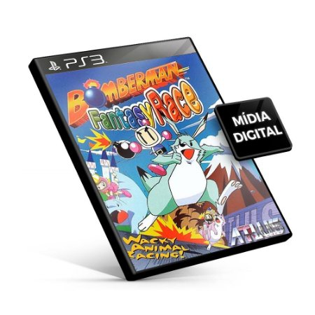 BOMBERMAN FANTASY RACE - PS3 Mídia Digital